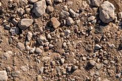 Сухая почва и камни Стоковая Фотография RF