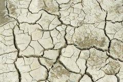 Сухая почва на бывшем морском дне Аральского моря Стоковое фото RF