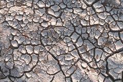 Сухая почва причиненная засухой Стоковые Изображения RF