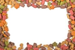 Сухая рамка корма для домашних животных Стоковое Фото