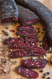 Сосиска салями Стоковая Фотография RF