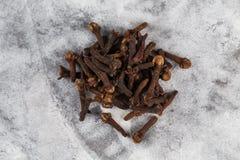 Сухая специя гвоздичного дерева Стоковое фото RF