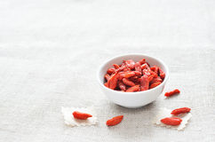сухая ягода Goji Стоковые Фотографии RF