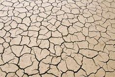 сухая parched земля Стоковое Изображение