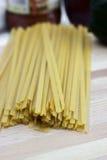 Сухие макаронные изделия Fetticcine Стоковое Изображение