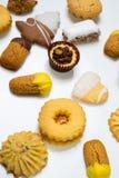 Сухие печенья печенья Стоковое Изображение RF