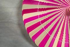 Сухие пинк и коричневый цвет лист ладони Стоковая Фотография RF