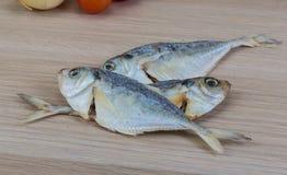 сухие рыбы Стоковая Фотография