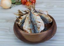 сухие рыбы Стоковое Фото