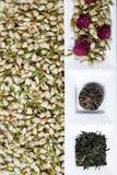 Сухие цветки чая Стоковое фото RF