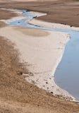 сухое озеро стоковое фото rf