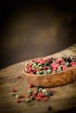 Сухое разнообразие перца Стоковые Фото