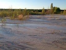 сухое река Стоковое Изображение