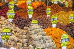 Сухое смешивание плодоовощ на азиатском рынке Стоковое Изображение