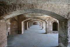 Сухое Tortugas, форт Jefferson стоковое фото