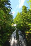Сухожилие водопада в Вогезы Франции стоковое фото rf