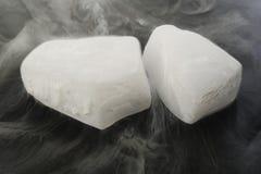 Сухой лед стоковое фото