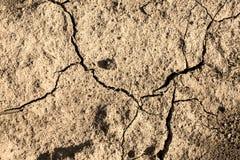 Сухой засушливый сезон земли стоковое изображение
