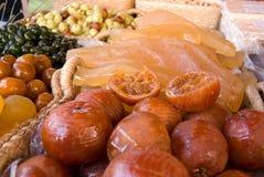 сухой рынок плодоовощей Стоковое Изображение RF