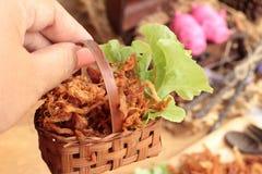 Сухой свинина жаркого в прокладки стоковая фотография rf