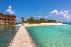 Сухой форт Jefferson Tortugas Стоковое Изображение RF
