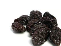 сухой чернослив сливы плодоовощ стоковое изображение rf