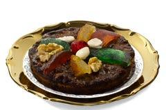 Сухофрукт рождества и десерт гайки, блюдо эмилия-Романьи Стоковая Фотография RF