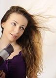 суша волосы Стоковое Изображение