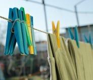 сушить одежд Стоковое Изображение RF