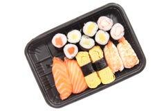 Суши в белой предпосылке Стоковое Изображение RF
