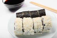 Суши в плите Стоковое Изображение RF