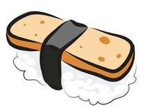 Суши заварного крема яичка Стоковое Фото