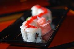 суши красного цвета рыб икры Стоковое Фото