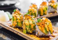 суши крена авокадоа Стоковая Фотография RF