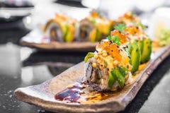 суши крена авокадоа Стоковое Изображение