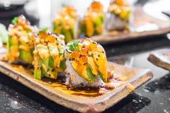 суши крена авокадоа Стоковое фото RF