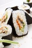 суши плиты Стоковое Изображение