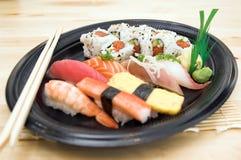 суши плиты Стоковые Фото