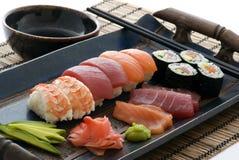 суши плиты Стоковые Изображения