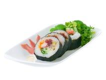 суши представления плиты Стоковая Фотография RF