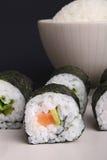 суши риса maki стоковые изображения