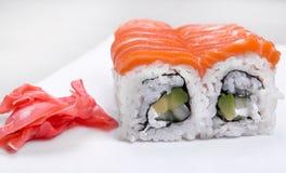 суши семг установленные Стоковая Фотография RF