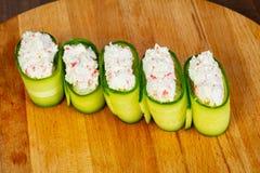 Суши с напихивают мяса стоковая фотография