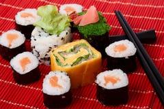 суши традиционные Стоковое Изображение