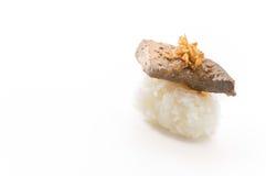 Суши фуа-гра Стоковые Изображения