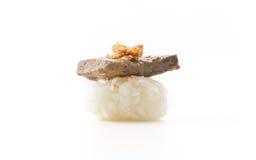Суши фуа-гра Стоковое фото RF
