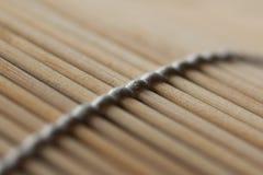 суши циновки Стоковые Фото