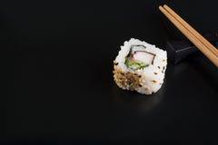 суши черной плиты Стоковая Фотография RF