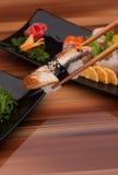 суши черной плиты Стоковое фото RF