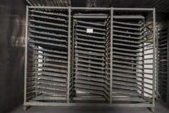 Сушильщик кубов угля Стоковая Фотография RF